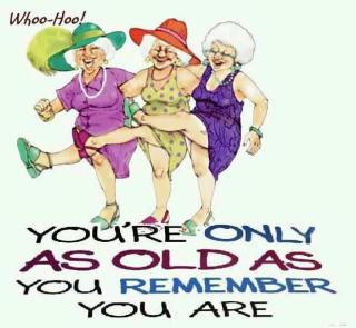 Happy old